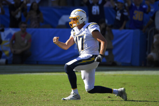 Chargers don't experience drop-off despite Gordon's holdout