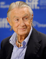 FILE - In this Sept. 14, 2011 file photo, director Joel Schumacher participates in a news conference for the film