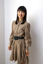 Author and television personality Marie Kondo poses for a portrait to promote her children's book