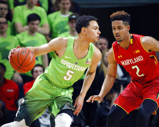 Bryn Forbes, Melo Trimble