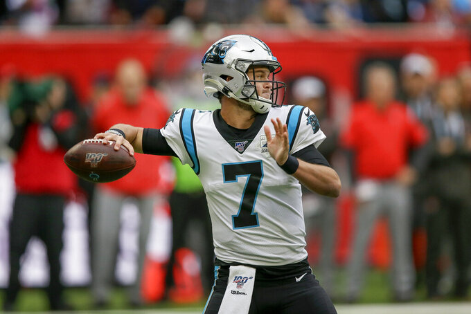 Rivera: Panthers sticking with Allen as starting QB vs 49ers