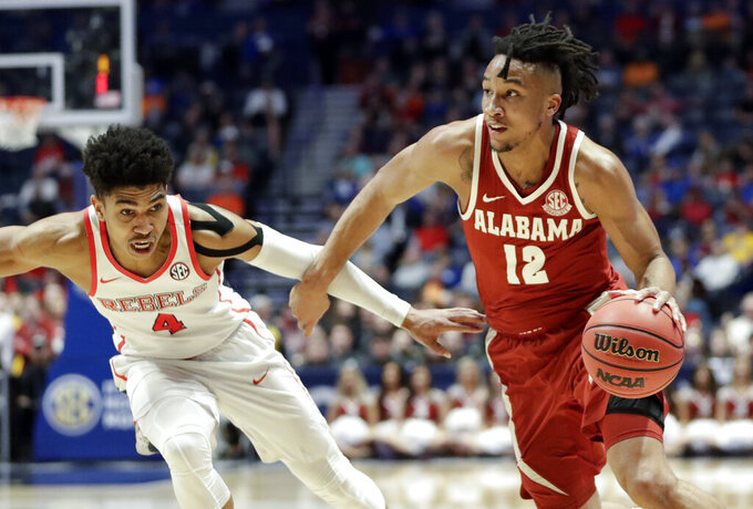 Alabama guard Dazon Ingram announces plans to transfer