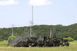U.S. Army equipments sit in a field in Yeoncheon, South Korea, near the border with North Korea, Friday, June 19, 2020. South Korea said Thursday it hasn't detected any suspicious activities by North Korea, a day after it threatened with provocative acts at the border in violation of a 2018 agreement to reduce tensions. (AP Photo/Ahn Young-joon)