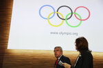 International Olympic Committee President Thomas Bach, leaves at the end of the 133rd IOC session in Buenos Aires, Argentina, Tuesday, Oct. 9, 2018. (AP Photo/Natacha Pisarenko)