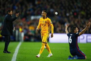Neymar,  Diego Simeone, Koke