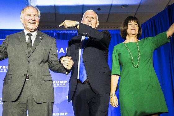 Steve Chabot, Mike Pence, Karen Pence