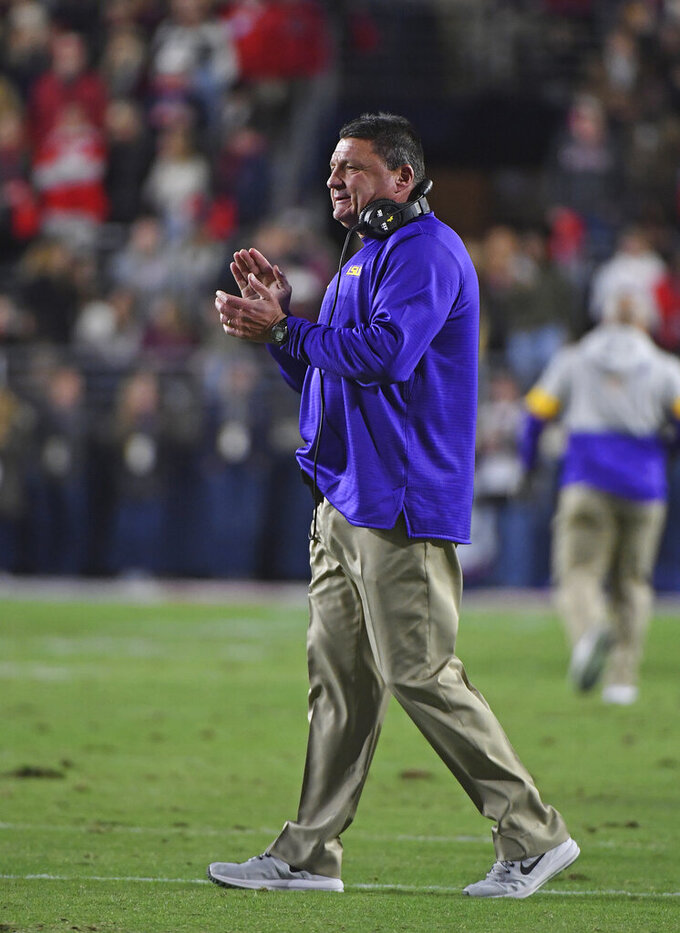 Did Louisiana football success boost Edwards? Couldn't hurt.