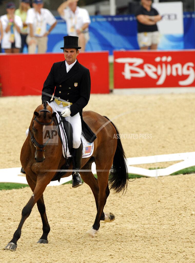 Beijing Olympics Equestrian Team Eventing