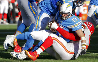 Tamba Hali, Philip Rivers