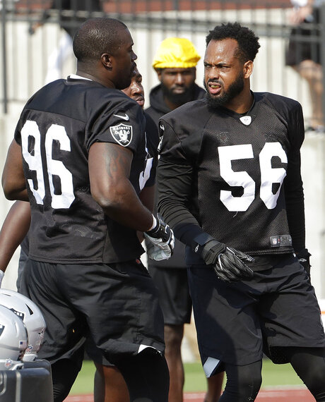 Tank Carradine, Derrick Johnson