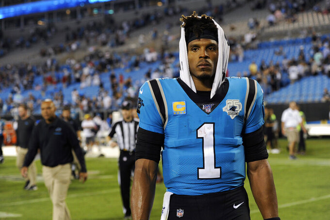 Is Cam Newton running out of time as Carolina's quarterback?