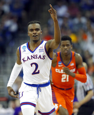 NCAA Clemson Kansas Basketball