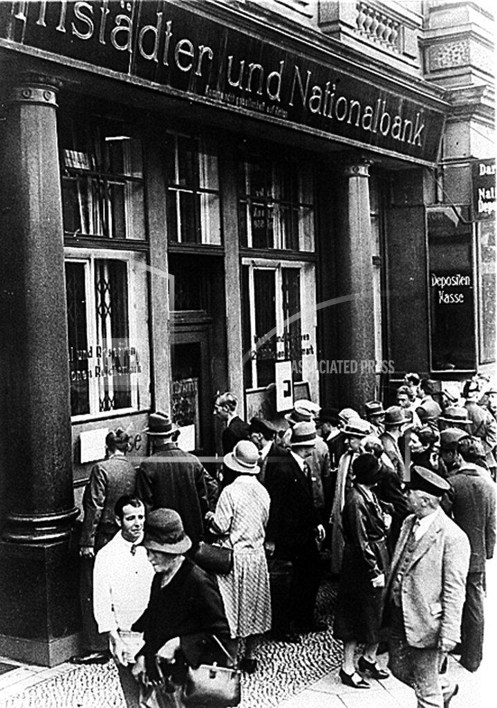Associated Press International News Germany GERMANY FINANCIAL CRISIS 1931