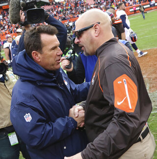 Mike Pettine, Gary Kubiak