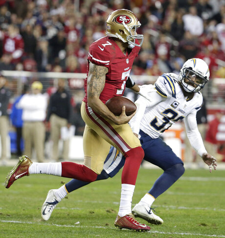 Colin Kaepernick, Eric Weddle