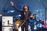 FILE - Lenny Kravitz performs at the 2017 Rock and Roll Hall of Fame induction ceremony in New York on April 7, 2017. In a new memoir,