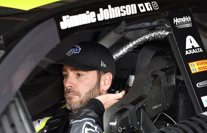Johnson poised to show critics his racing days are not over