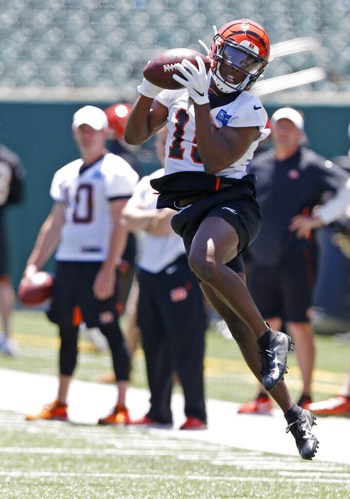A.J. Green healthy, has limited role in Bengals minicamp