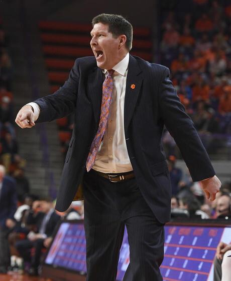 Syracuse Clemson Basketball