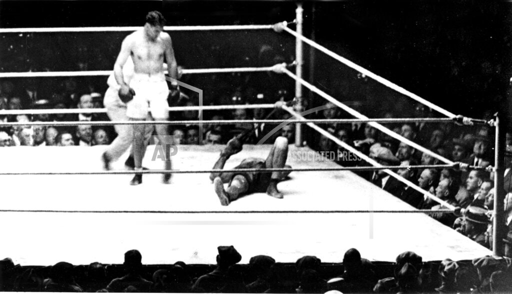 Associated Press Sports New York United States Boxing HEAVYWEIGHT DEMPSEY FIRPO