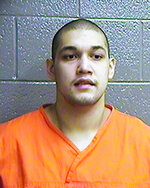 This Dec. 11, 2017 photo provided by the Oklahoma Department of Corrections shows Adrian L. Walker. The Oklahoma Court of Criminal Appeals has upheld the second-degree murder conviction and life sentence of Adrian Luis Walker in the choking death of Florencio Jimenez at an Oklahoma City car wash, Thursday, July 18, 2019. (Oklahoma Department of Corrections via AP)