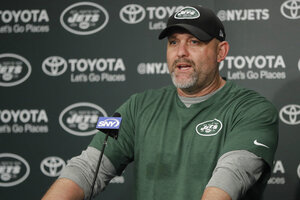 Jets Morton Fired Football