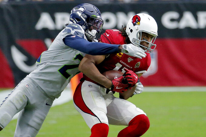 Familiar problems plague Cardinals in 27-10 loss to Seahawks