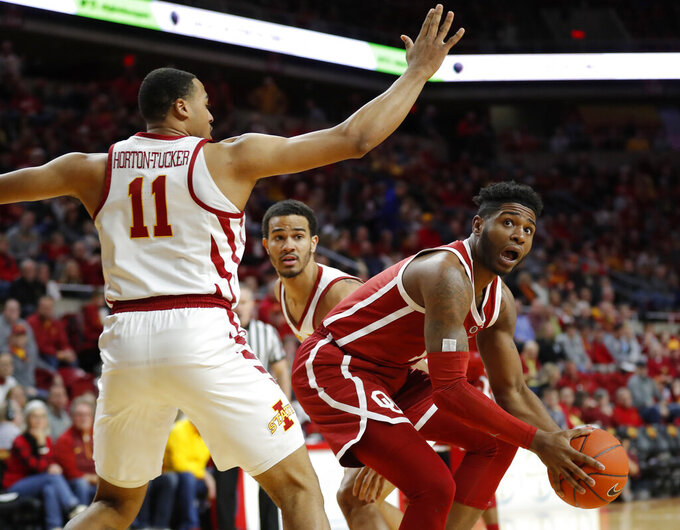 Shayok leads Cyclones past Oklahoma 78-61