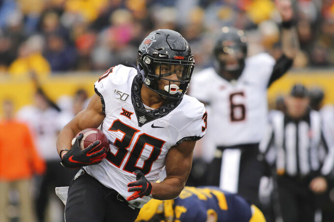 Stage set for Oklahoma State's Hubbard, Oklahoma's Lamb