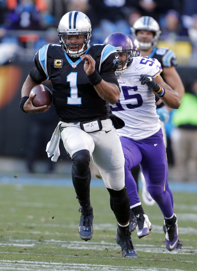 Cam Newton, Anthony Barr