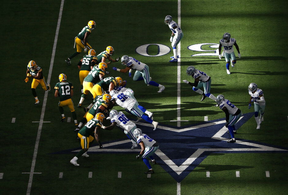 Aaron Rodgers, Randall Cobb,