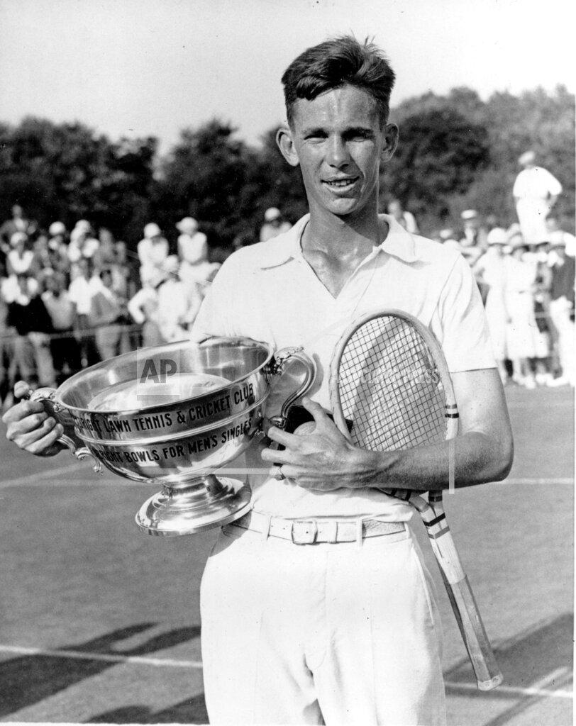 Associated Press Sports New Jersey United States Tennis INVITATIONAL TOURNAMENT VINES