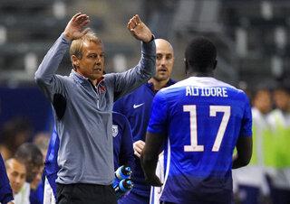 Jurgen Klinsmann, Jozy Altidore