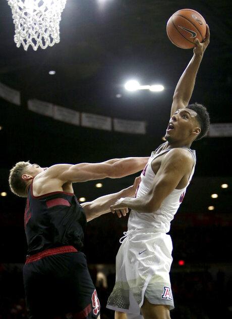 Stanford Arizona Basketball