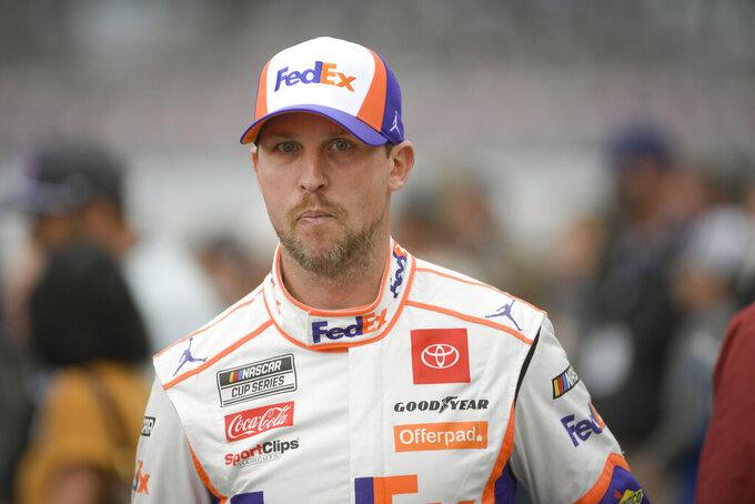 AUTO RACING: Hamlin now the man to beat in NASCAR?