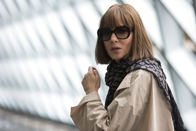 This image provided by Annapurna Pictures shows Cate Blanchett as Bernadette Fox in Richard Linklater's