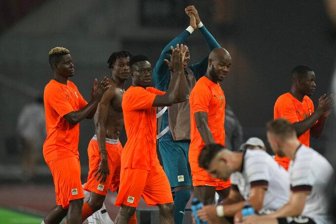 Ivory Coast advances in Olympic soccer, eliminates Germany