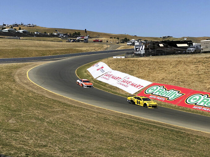"Sonoma's new turn: NASCAR takes a ride on ""The Carousel"""
