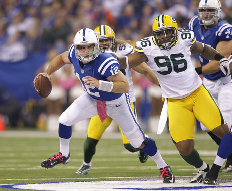 Andrew Luck,  Mike Neal