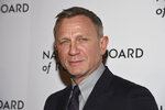 Daniel Craig attends the National Board of Review Awards gala at Cipriani 42nd Street on Wednesday, Jan. 8, 2020, in New York. (Photo by Evan Agostini/Invision/AP)