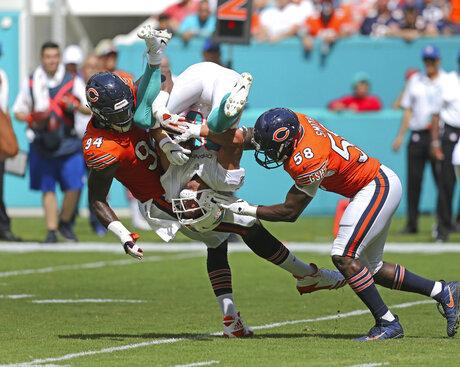Bears Dolphins Football
