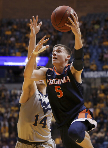 Virginia West Virginia Basketball
