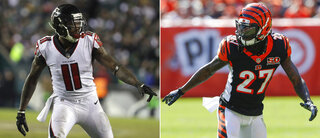 Bengals Dre and Julio Football