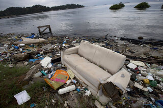 Brazil OLY Rio Filthy Water
