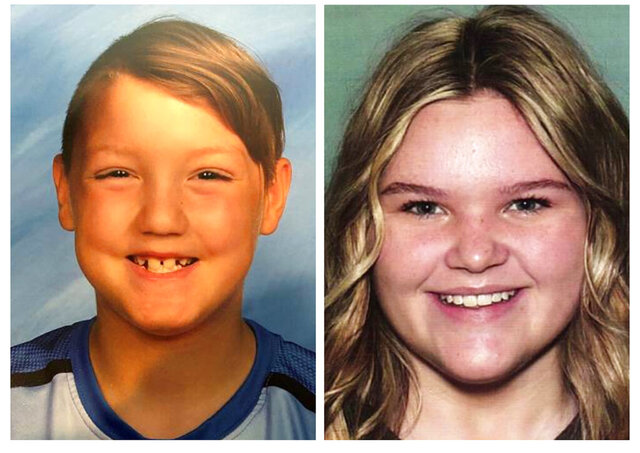FILE - This combination photo of undated file photos, released by National Center for Missing & Exploited Children, show missing children Joshua