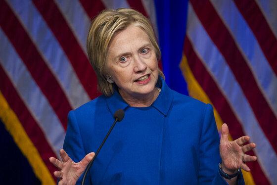 APTOPIX Hillary Clinton
