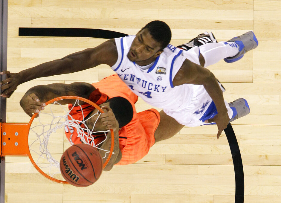 NCAA Final Four Kentucky Louisville Basketball