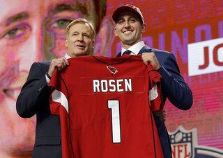 Josh Rosen, Roger Goodell