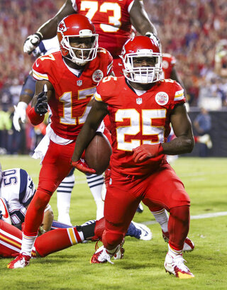Donnie Avery, Jamaal Charles
