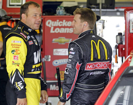 Ryan Newman, Jamie McMurray